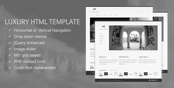 Luxury HTML Template by Cudazi - Business Corporate