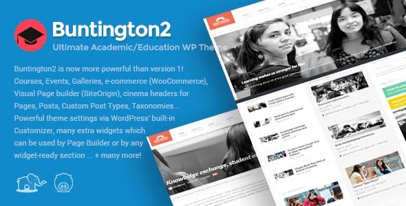 Buntington - Education WP Theme