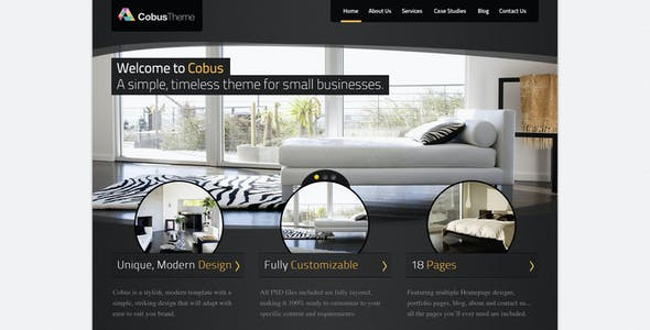 Cobus - Modern Business Template