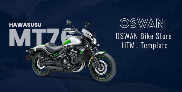 Oswan - eCommerce Bike Store Template