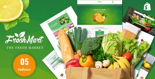 FreshMart - Responsive Shopify Theme, Organic, Fresh Food, Farm Store - Health & Beauty Shopify
