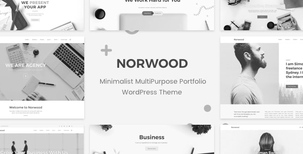 Norwood - Minimalist MultiPurpose Portfolio WordPress Theme