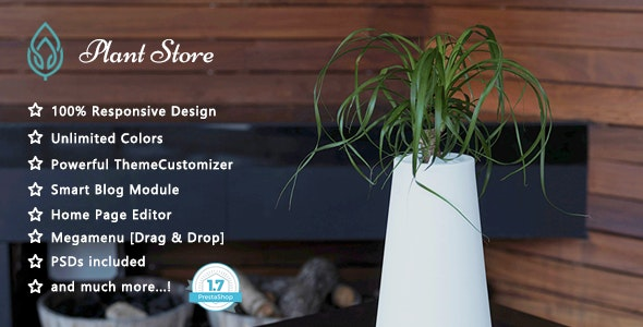 Plant - Garden Care Responsive PrestaShop 1.7 Theme - Health & Beauty PrestaShop