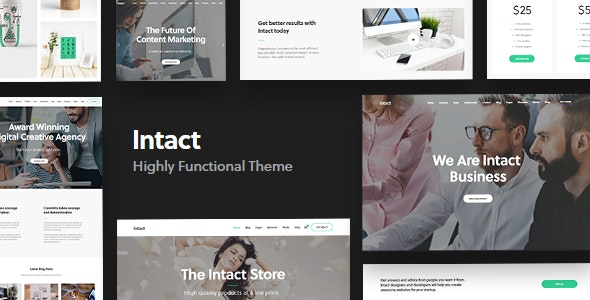 Intact - Multi-Purpose WordPress Theme - Creative WordPress
