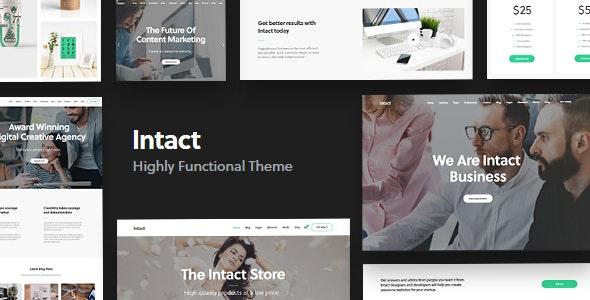 Intact - Multi-Purpose WordPress Theme - Creative WordPress