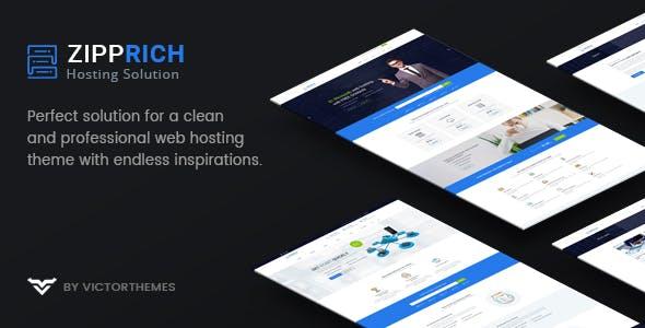 Zipprich - Web Hosting & WHMCS WordPress Theme
