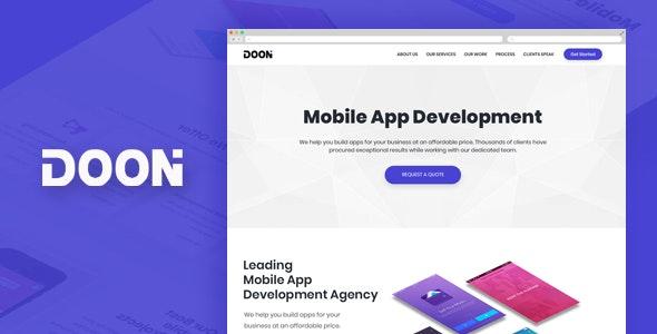 Doon - PSD Template - Business Corporate