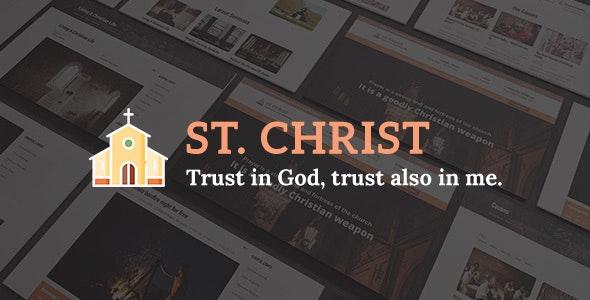 St. Christ - Church & Charity Joomla Template - Churches Nonprofit