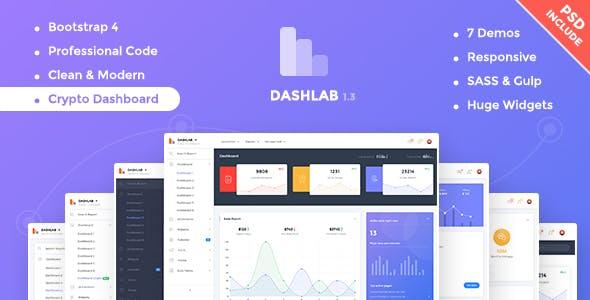 DashLab - Bootstrap 4 Responsive Admin Template