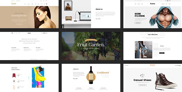 Scara- Multipurpose Magento 2 Theme for Online Store