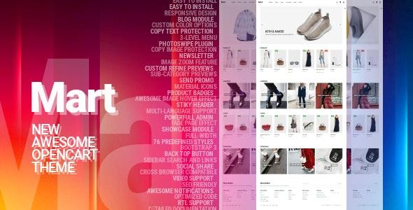 Mart - Awesome OpenCart Theme - OpenCart eCommerce