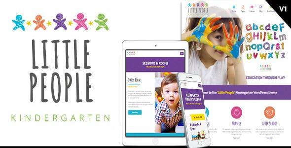 Little People   Kindergarten HTML Template