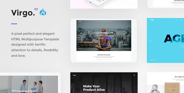 Virgo. - Multipurpose And Concept Drupal 8.9 Theme - Creative Drupal