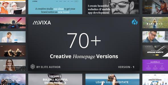 Vixa - Responsive Multi-Purpose Drupal 8.9 Theme