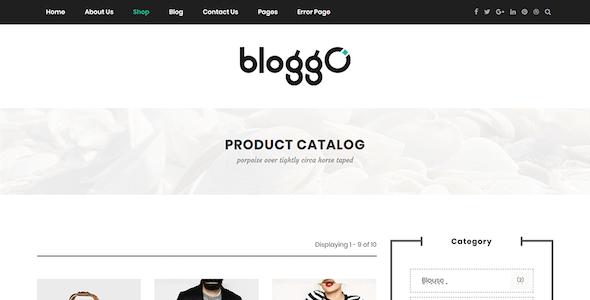 Bloggo - Multipurpose Magazine Drupal 8.9 Theme
