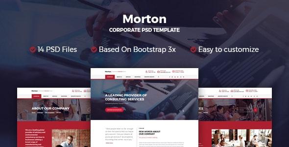 Morton Business & Corporate Template - Business Corporate