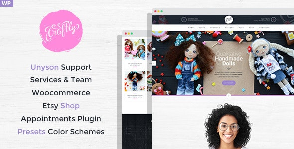 Craftly - Hobby and Crafts WordPress Theme