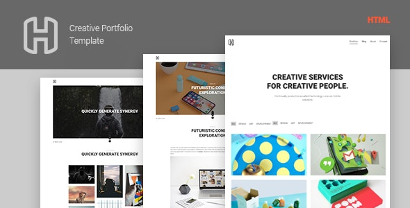 Honor - Creative Portfolio Showcase Template - Creative Site Templates