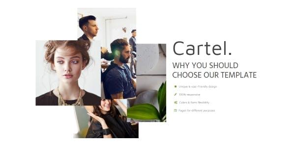 Cartel - Multipurpose beauty shop template