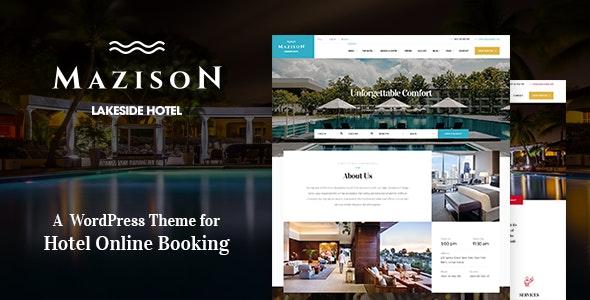 Mazison - Hotel & Resort Booking WordPress Theme - Travel Retail