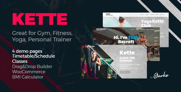 Kette - Fitness Theme - Health & Beauty Retail