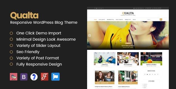 Qualta - Responsive WordPress Blog Theme