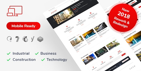 Innova Construct WordPress Theme - Corporate WordPress