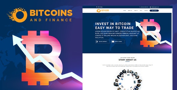 Bcoin - Bitcoin And Finance HTML Template - Site Templates