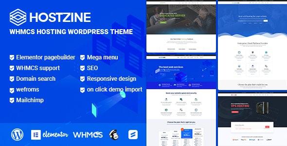 Hostzine - Hosting WordPress Theme - Hosting Technology