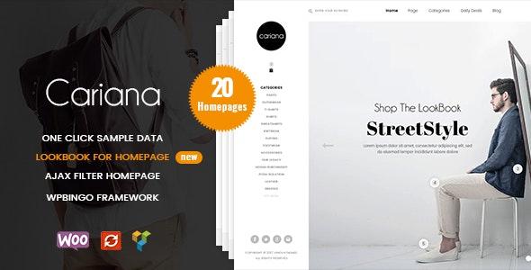 Cariana - WooCommerce Lookbook Fashion Theme - WooCommerce eCommerce