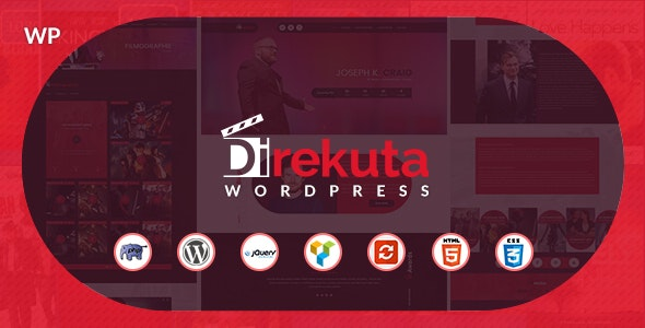 Direkuta - The Director & Video Portfolio WordPress Theme - Entertainment WordPress