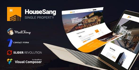 HouseSang | Single Property WordPress Theme