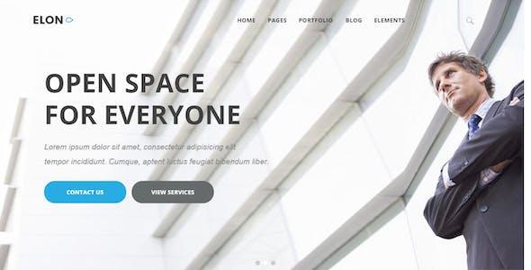 Elon - Businesses and agencies modular Drupal 8 Theme