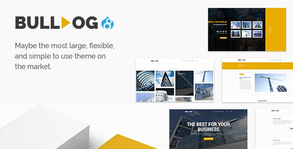 Bulldog - Construction And Architect Building Multipurpose Drupal 8.8 Theme - Business Corporate