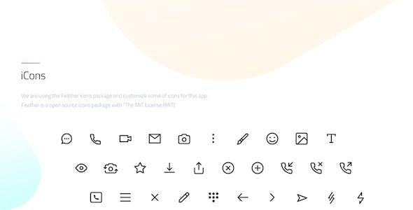 Monster - Chat App UI KIT for Sketch
