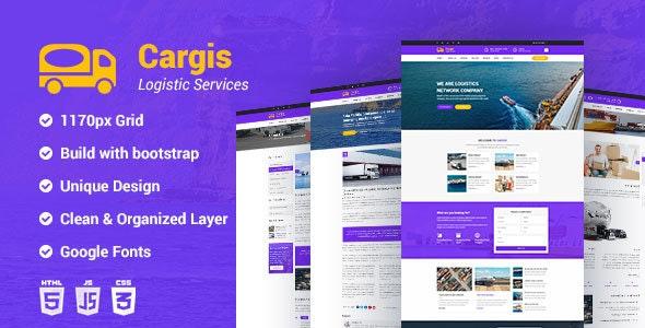 Cargis- Transport & Logistics HTML Template - Business Corporate