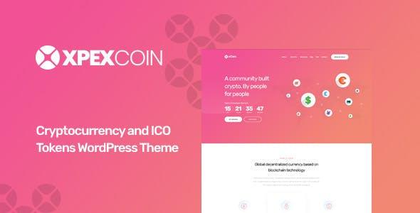 XPEXCoin - Cryptocurrency WordPress Theme