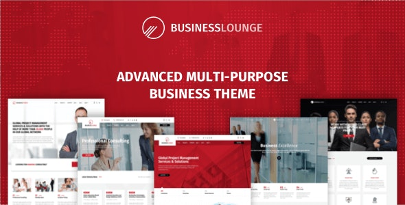 Business Lounge | Multi-Purpose Consulting & Finance Theme - Business Corporate