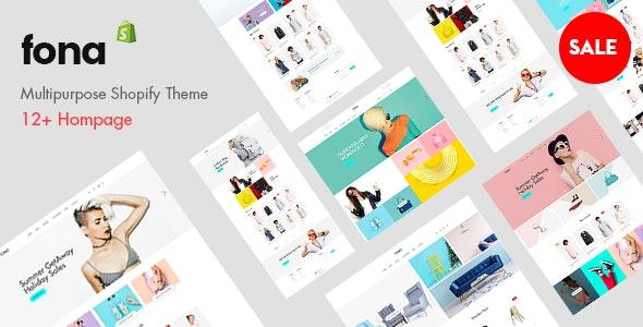Fona v2.0 – Premium Multipurpose Shopify Theme