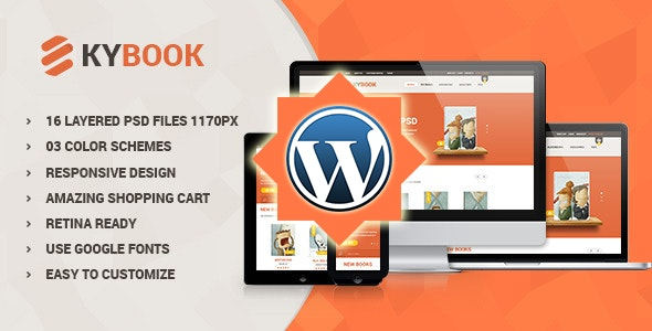 KyBook - Responsive eCommerce WordPress Theme - Shopping Retail