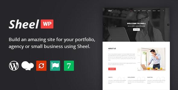Sheel - Creative Agency and Business Landing Page WordPress Theme - Marketing Corporate