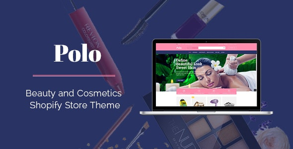 Polo - Drag & Drop Sectioned Beauty Store Shopify Theme - Health & Beauty Shopify