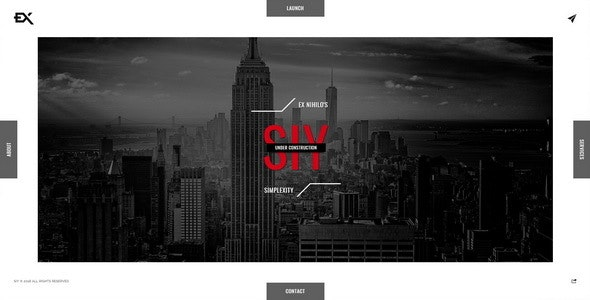 Siy - Under Construction Template - Under Construction Specialty Pages