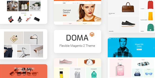 Doma Multipurpose Responsive Magento 2 Theme - Fashion Magento