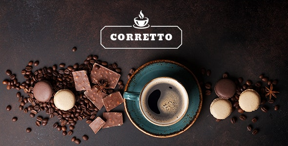 Corretto - A Theme for Coffee Shops and Cafés - Restaurants & Cafes Entertainment