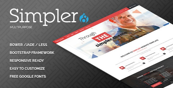 Simpler Drupal 8 Theme - Business Corporate