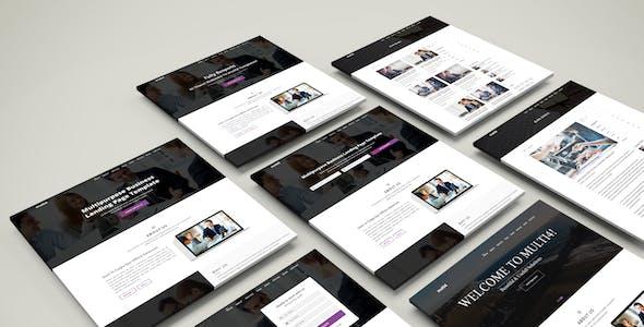 multi4  - Multipurpose Business Landing Page