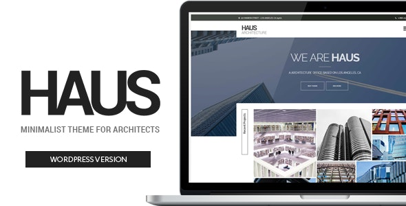 Haus - Architecture Theme for Architects - Business Corporate