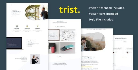 Trist - Landing Page Agency - Portfolio Creative