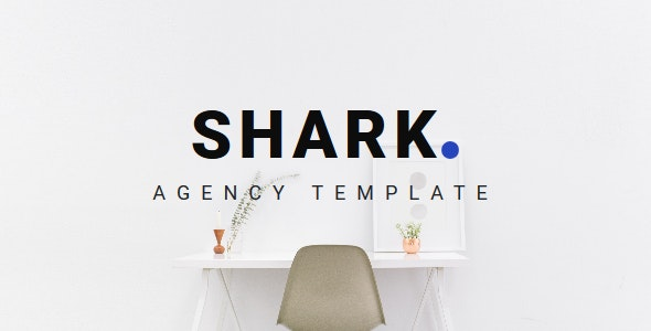 Shark - Agency Landing Template - Creative Site Templates